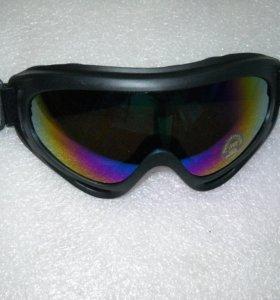 Очки маска для мотокросса, лыж, сноуборда