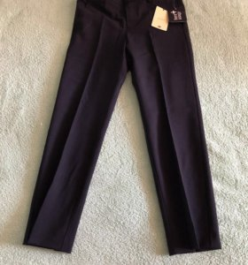 Новые чёрные брюки С&А на рост 128