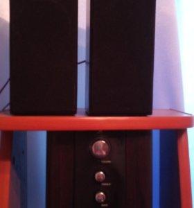 4 ядерный системный блок+монитор+колонки+принтер