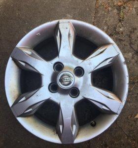 Литой диск для Nissan Almera G15