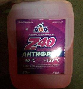 Антифриз Z40, 10 литров