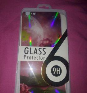 Защитное стекло на две стороны Iphone 6+ / 6s+