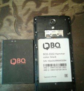 Телефон BQ Hammer , полетела плата .