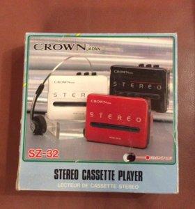 Кассетный Стерео Плеер Crown SZ-32