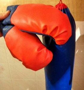 Груша и перчатки возраст 5-10
