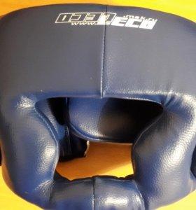 Шлем боксёрский, боксерские перчатки