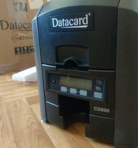 Принтер пластиковых карт DC800