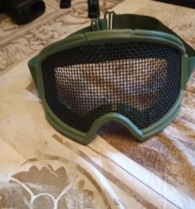 Страйкбольные очки с сеточкой