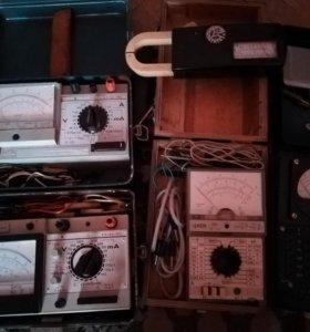 Приборы электроизмерительные.
