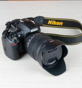 Nikon d3100 + Sigma 17-70 f 2.8-4 DC Macro OS
