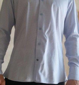 31653e5690e Мужские рубашки в Красноярске - купить рубашки с длинным и коротким ...