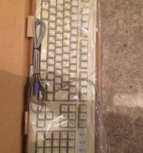 Клавиатуры мультимедийные и простые, мышки б/у