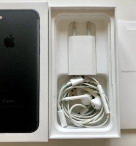 iPhone 7 (матовый чёрный)