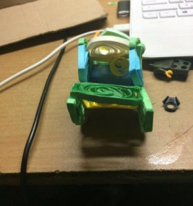 Игрушка сделана своими руками машина