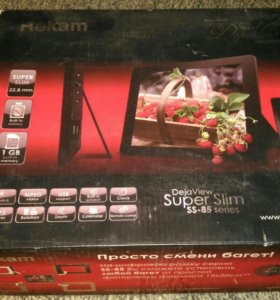 Цифровая фоторамка Rekam DejaView Super Slim SS-85