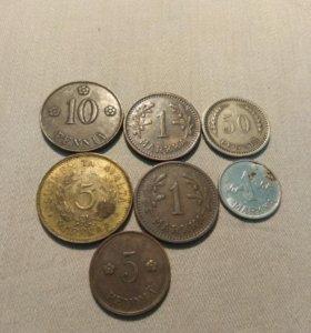 Старые Монеты Финляндии