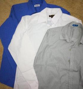 Рубашки для мальчика (школьные), р. 158-164