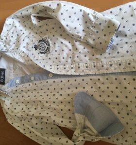Рубашка школьная Gulliber размер 122