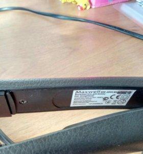 выпрямитель для волос Maxwell MW-2204BK