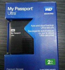 Жесткий диск My passport Ultra 2 Tb