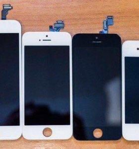 Дисплеи и АКБ высшего качества iPhone гарантия