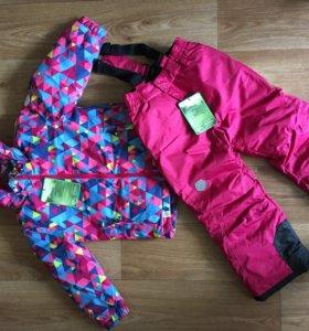 Зимний лыжный костюм для девочки Color Kids