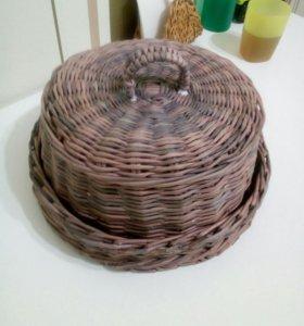 Плетеные изделия из бумажной лозы на заказ