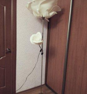 Торшер - роза
