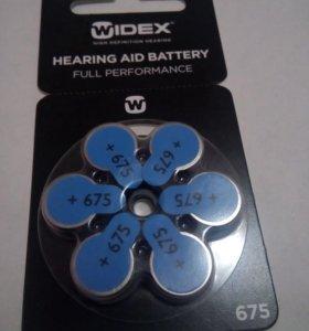 Профессиональные батарейки для слухового аппарата