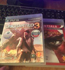 God of war 3,uncharted 3