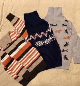Водолазки и футболки с длинным рукавом