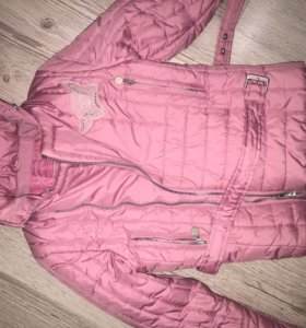Куртка  для девочки pampolina 122-134 см демисезон