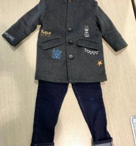 Новое пальто на мальчика