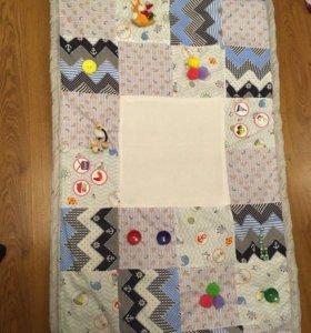 Подушки и развивающие коврики для малышей