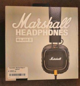 """Наушники проводные """" Marshall Major ll"""""""