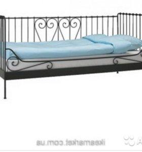 Кровать кованая икея