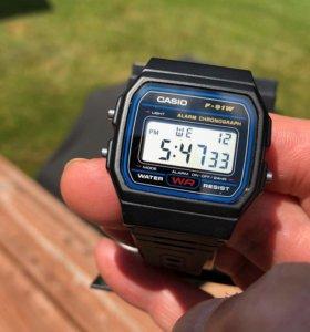 Часы Casio F91W