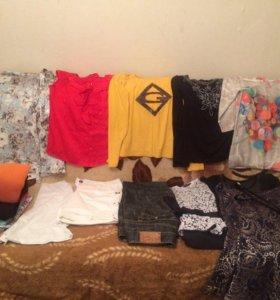 Продам женские вещи пакетом