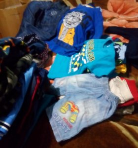 Вещи для мальчика 2-5 лет