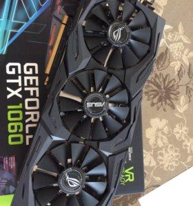Видеокарта Asus Strix 1060 6Gb