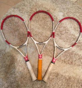 Теннисная ракетка Wilson six one (2014-2015)