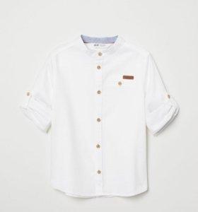 Рубашка H&M, 128 рост