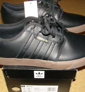 Adidas 44 размер новые кожаные кроссовки SEELEY