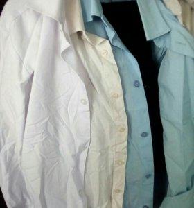 Рубашки на 7-8лет, 11-12лет.