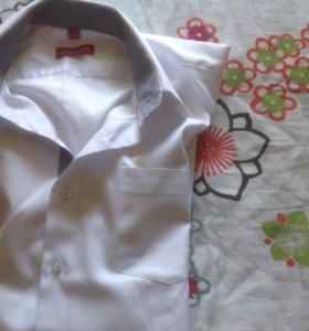 Школьные рубашки для мальчика 12-14 лет