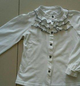 Блузки для школы на девочку
