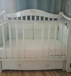 Кровать детская новая 140*70