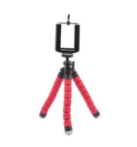 Мини-штатив +держатель для телефона и экшен камеры
