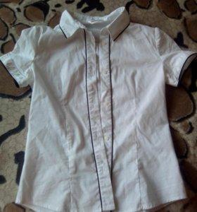 Рубашки школьные на девочку 10-12 лет