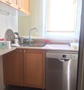 Квартира, 1 комната, 60.8 м²